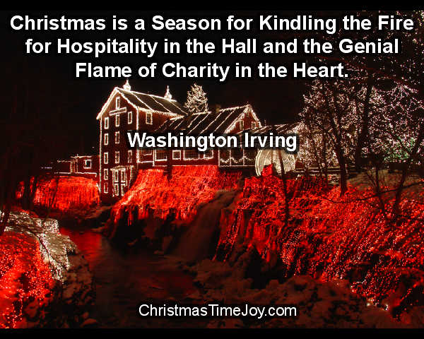 Christmas Quote - Washington Irving