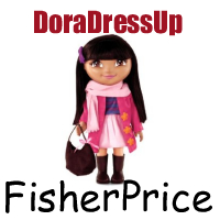 Dora Dress Up Doll