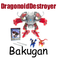 Dragonoid Destroyer Bakugan